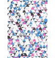 irregular colorful abstract geometric vector image