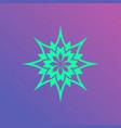 lotus logo icon vector image vector image