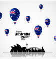 national australia day vector image