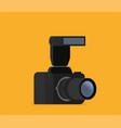 photo camera modern minimal flat design style vector image vector image