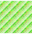 seamless green square pattern background vector image vector image