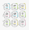 shopping discount and sale icons cash dollar vector image