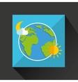 weather symbol design vector image