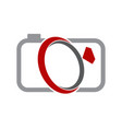 wedding photography service vector image vector image
