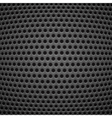 Technology background with carbon texture vector image