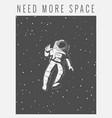 astronaut vector image vector image