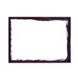 Black grunge frame vector image vector image