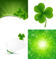 Clover backgrounds vector | Price: 1 Credit (USD $1)