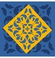 colorful Portuguese azulejo tile vector image vector image