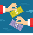 Currency Exchange Concept vector image vector image