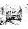 destroy texture 5 vector image vector image