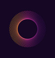 dynamic gradient circle shape abstract modern vector image