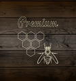 Honey badges logos and labels for any use vector image vector image