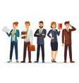 lawyers team legal department business vector image vector image