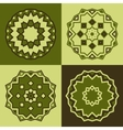 logo design templates and patterns vector image vector image
