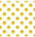 smile pattern seamless vector image vector image