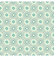 Turquoise ceramic pattern vector image