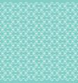 white openwork pattern vector image