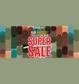 super sale hottest deal promotion sale banner vector image
