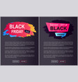 black friday sale -25 off vector image vector image