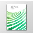 Business design template Cover brochure report vector image vector image