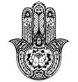 Hamsa symbol vector image vector image
