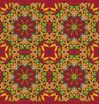 mandala oriental pattern doodle drawing vector image vector image
