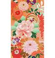 september kimono vector image vector image