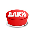 Time to earn button sign template vector image