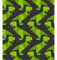 Tyrannosaurus t-rex seamless pattern Background of vector image
