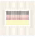 The German flag from lines against gold decorative vector image