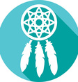 Dream Catcher Icon vector image vector image