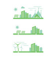 graphic clean energy vector image