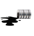 oil spill vector image vector image