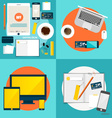 Online shopping Business concept with business vector image