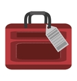 packback luggage travel bag tourist vector image vector image