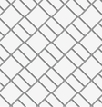 Perforated diagonal bricks vector image
