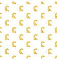 Pound currency symbol pattern cartoon style vector image vector image