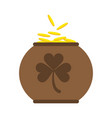 saint patricks day related icon imag vector image vector image