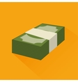 save the money stack icon graphic vector image vector image