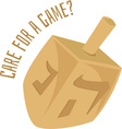 A Game vector image