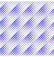 abstract dark blue geometrical square pattern vector image vector image