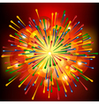 Brightly Explosion Background vector image vector image
