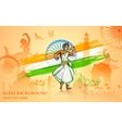 Culture of India vector image vector image