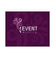 event agency logo vector image vector image