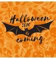 Halloween 2016 is coming vector image vector image
