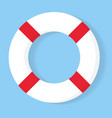 lifebuoy icon equipment rescuers to save vector image
