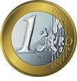 Money gold coin euro