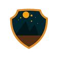 mountain adventure night badge