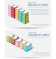 Set template vector image vector image